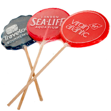 Custom Giant Lollipops