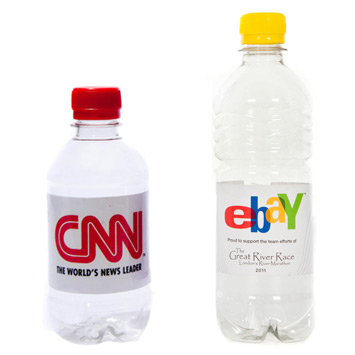 Promotional Branded rPET Water Bottles