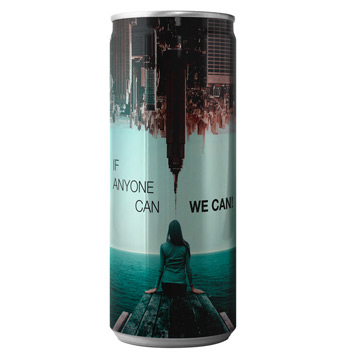 Promotional Branded Recyclable Water Cans