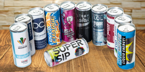 Custom Own Brand Canned Drinks