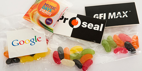 Custom Branded Sweets with logos
