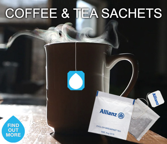 Promotional Branded Coffee and Tea Sachets