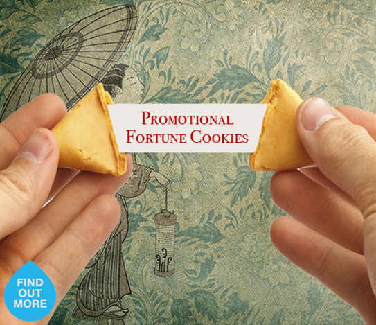Promotional Branded Fortune Cookies